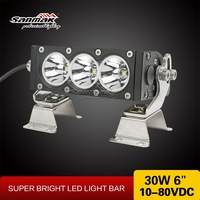 30W 60W 90W led work light bar 12V , cree off road led light bar , car led light bar cover