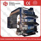 2014 hot sale High Speed Six Color Flexo Press Plastic Film Printers