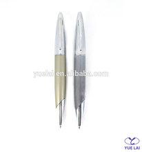 Hot sale short twist metal pen for gift
