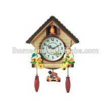 modern cuckoo bird wall clock