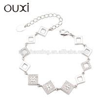 OUXI 2015 fashion jewelry bracelet made with Swarovski elements 30267