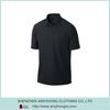 2015 Latest Popular Dri Fit Pocketed Custom Polo Shirt Black