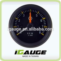 52mm 8000 rpm car meter Electrical Tachometer Gauge