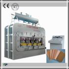 Hot! MDF Laminating Floor Heating Press Machine