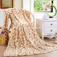 wholesale 100% polyester super soft flannel micro fleece blanket