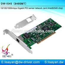 Intel 82545 8490MT RJ45 rohs PCI card drivers server adapter