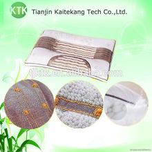 Ergonomic negative ion pillow