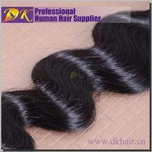 Global hair supplier Guangzhou DK hair Wholesale natural brazilian hair pieces