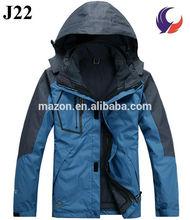Outdoor winter waterproof windbreak men jackets 2014 100% polyester J22