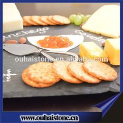 cake shope black slate cookie plate natural slate items