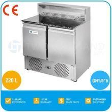 2014 Hot sale Salad bar counter - GN 1/6 * 5, Marble Salad Bar, TT-SL900DR2K-GR