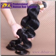 TOP hair supplier Guangzhou DK hair Velvet remy hair weave