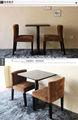 Design moderno em madeira de bétula poltrona hotel& hotel restaurante poltrona de jantar cadeiras de madeira