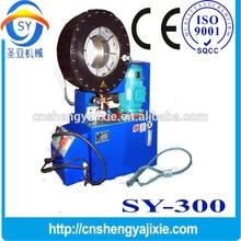 building pipe making machine SY-300 hydraulic hose crimping machine