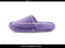 Cheap Colar Fleece Slipper for SPA fleece fabric suppliers