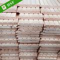 precio razonable panel de madera maciza de madera para la casa y sala de sauna