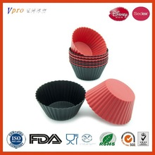 Novelty and Durable Silicone Muffin Pan Cupcake Molds Tray -Green