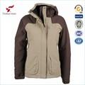 ropa de invierno al aire libre de los hombres abrigos a prueba de agua ropa de caparazón blando
