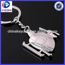 Fashion Charm jewelry high quality airplane key chain metal for promotion