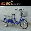 3 wheel adult tricycle wholesale cargo bike (E-TDR05)