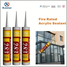 factory price floor ducts fireated acrylic sealant