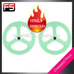 3-Spoke Carbon Racing Wheel Cycling wheel bike wheel for carbon bike hot sale