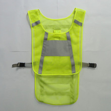 powered LED mesh motorcycle safety vest
