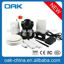 Linkage Alarm IP Camera ,Two way audio.APP Style.
