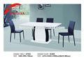 2014 moderna mesa de jantar em projetos de mesa de madeira reciclada