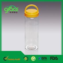 Chinese Manufacturer Plain Plastic Bottle