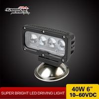 High lumen output 4pcs * 10w worklight hot auto led spot work light