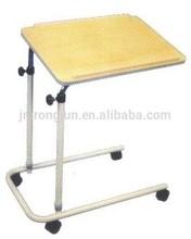 height adjustable wood multi dinner table with wheels