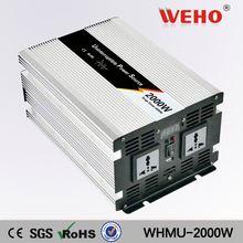 Professional OEM 2000w 24v to 110v solar power inverter & charger
