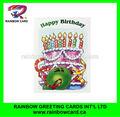 تصميم كعكة عيد ميلاد، ارسال بطاقة عيد ميلاد