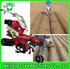 new condition diesel gasoline hand tractor rotary ditcher welsh onion transplanter mangement machine