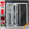 Porta de alumínio dobrável/porta sanfonada de vidro/porta