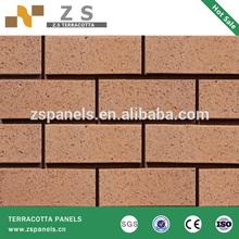 split brick tile 60*240*11mm terracotta panel ceramic various color Asia China offer waterproof china hard coating