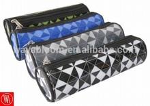 color assorted round pvc pencil cases