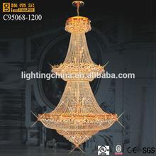 guard antique brass base hanging light