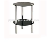glass top plexiglass horse coffee table