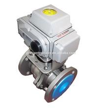 Electric modulating control valve