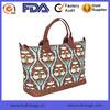 Tote Zipper Canvas Digit Print Duffel Bag Travel Bag Tote Travel Bag OEM