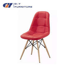 modern new style design leisure and comfortable massage PU chair with wood legs