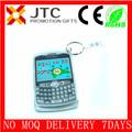 JTC 2014 migliorein vendita su ordinazione mora mini keychain cellulare/telefono mobile mini& acrilico trasparente 9% sconto