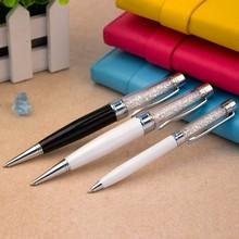 Fashion High Quality Economy Custom crystal pen USB 2.0 Flash Drive/colorful pen USB flash drive