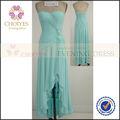 Cy62307 off- ombro estilo grego grande tamanho mulheres vestido longo verde