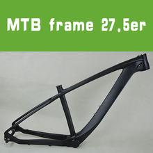 2014 new product 650 mtb frame carbon bike frame 3k weave/glossy /matte finished top quality carbon frame