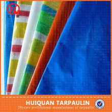 Cheap reinforced customized pe color tarpaulin plastic