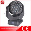 professional light equipment osram rgbw 19x15w led movers zoom head light