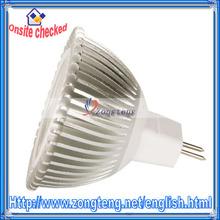 Wholesale Low Price Aluminum Warm White Light 12V 3W MR16 LED Light Bulb